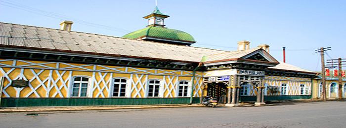 大连旅顺火车站